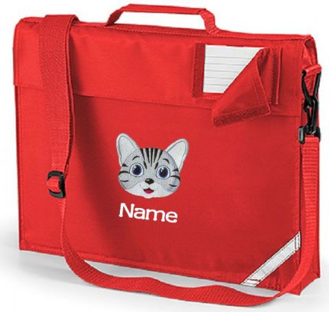Personalised CAT School Book Bag